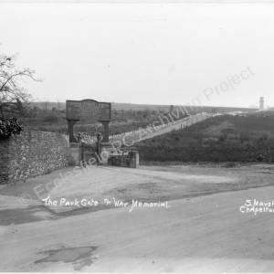 Chapeltown Park Entrance, 1920's.