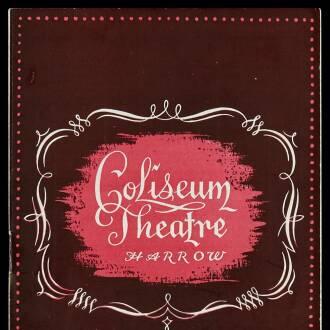Coliseum Theatre, Harrow, March–April 1955