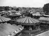 Mitcham Fair: Fairground rides