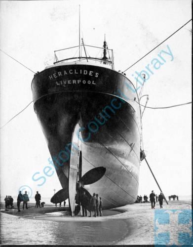 Heraclides Ship wrecked at Crosby 15th Oct 1902