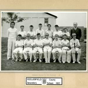 Ecclesfield Secondary School  Cricket Team 1957