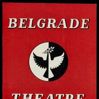 Belgrade Theatre, Coventry, September 1958