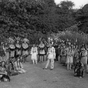 Thorncliffe Musical Society, cast of 'Hiawatha'