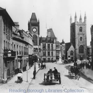 Friar Street, Reading. East end.