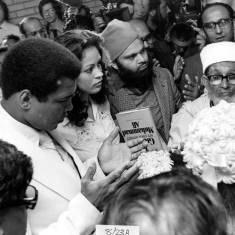 Blessing of Muhammad Ali's marriage to Veronica