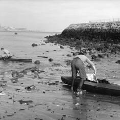 Canoeing Off The Groyne