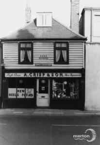 A. Crisp & Son, Upper Green East, Mitcham.