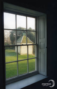 The Canons, Mitcham: View from inside