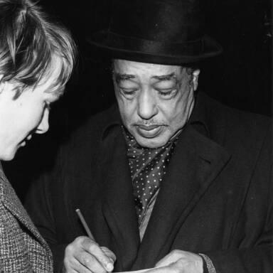 Duke Ellington, c1962.