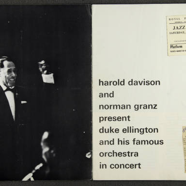Duke Ellington Orchestra British Tour – February 1964 002