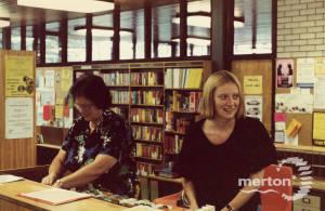 Pollards Hill Library: staff