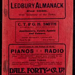 Tilley's Ledbury Almanack 1939