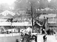 Mitcham Fairground and the village pump