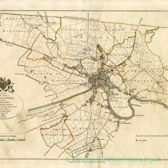 A plan of the city of Hereford 1802