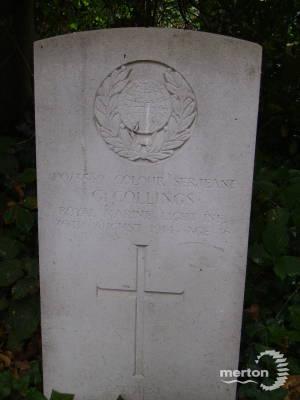 Gravestone of George Collings