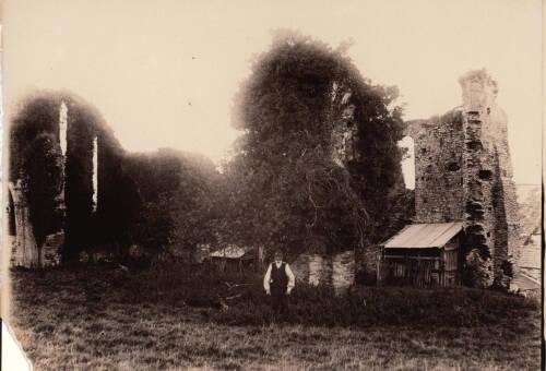 Ruins of Canonsleigh Abbey, c1900, Burlescombe