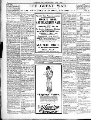 1 JULY 1916