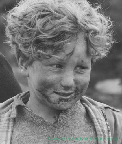 Child with Mud Stained Face