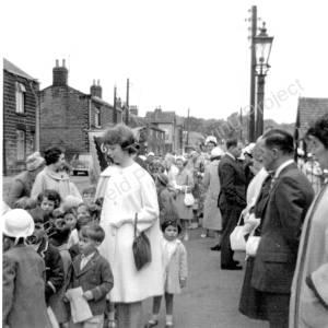 Whitsuntide Parade 1963 Main Street Grenoside