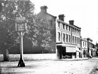 London Road, Mitcham: View south from the White Hart Inn