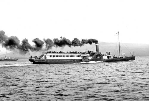 Paddle Steamer, 'Eagle'