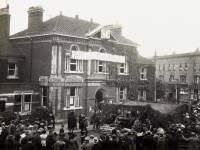 Wimbledon Town Hall: Pictured on Wimbledon Gun Day
