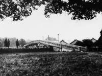 The bridge over Morden Underground depot