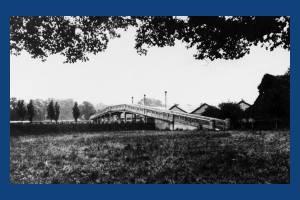 The bridge over Morden Underground depot