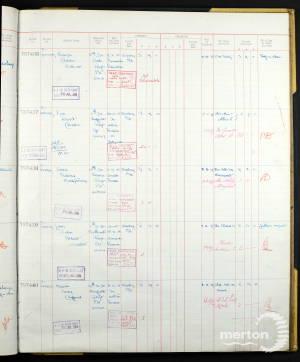 John Lane Register of Soldier's Effects