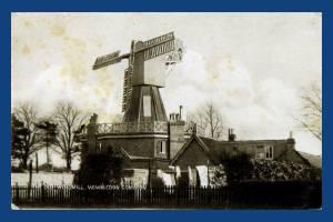 Wimbledon windmill with missing sail