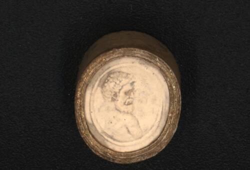 Heraclitus Intaglio in Plaster