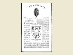 The Radleian 1908 - No. 351 July