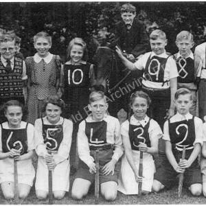 Burncross School Rounders Team 1950-51