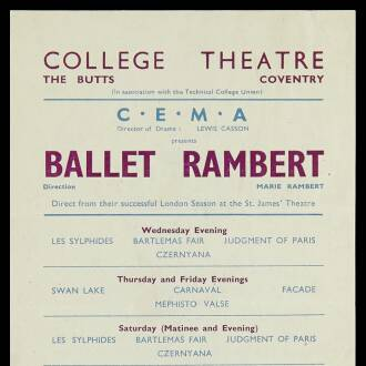 College Theatre, Coventry, February–March 1945
