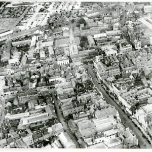 Broad Street, aerial view, 1929