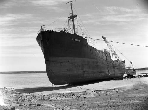 Wreck Of The Adelfotis II, Herd Sand, South Shields