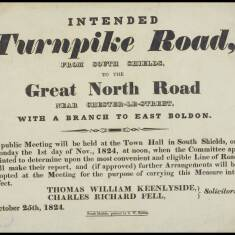 Intended Turnpike Road