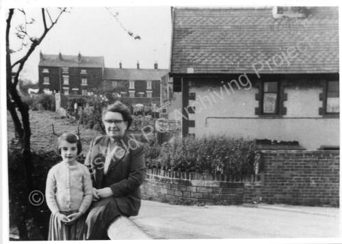 South Road, Julia Perry and her grandmother.