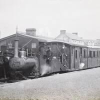 Locomotive on the Listowel and Ballybunion Railway, Ireland
