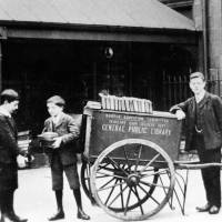 Bootle Public Library, Book Delivery, C1900s