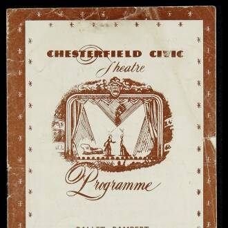 Chesterfield Civic Theatre, September 1952 - P01