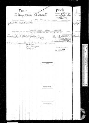 Navy Register - Harry Walter Everest