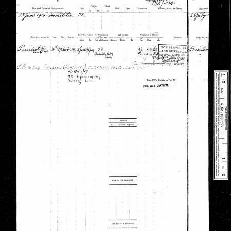 Navy Register - Harry Walter Everest