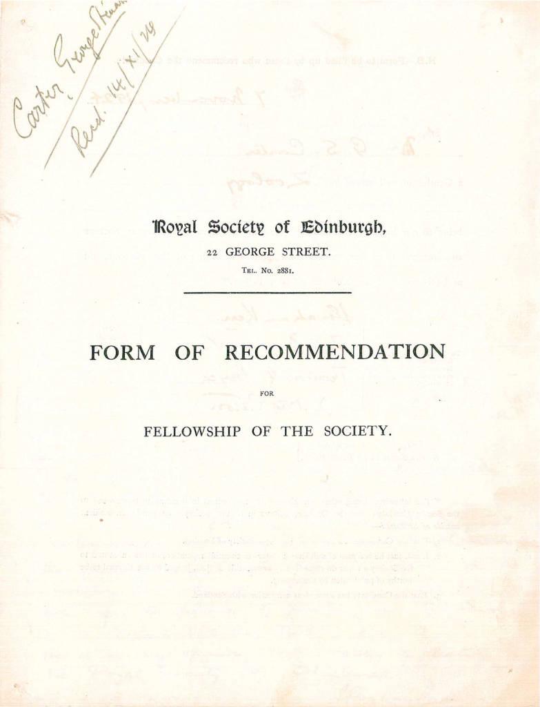 00A Carter FRSE Proposal Form 9 Mar 1925-0.jpg