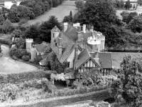 Aerial view of the Old Rectory, Wimbledon