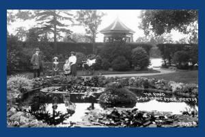 John Innes Park: View of the pond