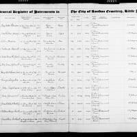 Burial Register 73 - July 1926 to April 1928