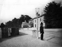 Whitford Lane, Entrance with Milestone,  Mitcham