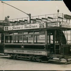 South Shields Tramways Car Number 14