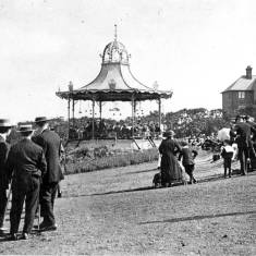 Bandstand at South Marine Park